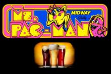 Ms Pacman and beers